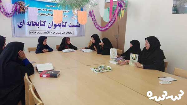 برگزاری نشست های کتابخوانی و کارگاه های قصه گویی به مناسبت روز نوجوان
