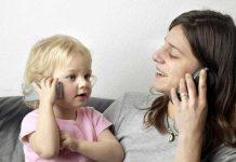 به تقلید کردن فرزندتان توجه کنید