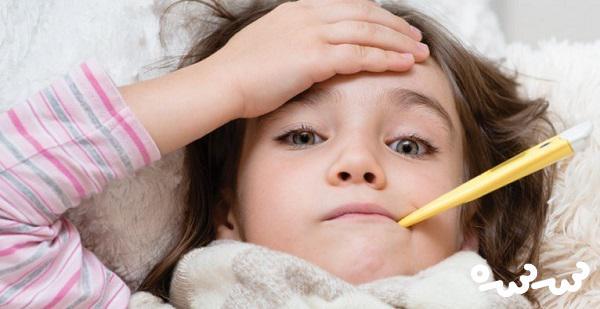 دلایل تب کودک و روش های کاهش دادن آن