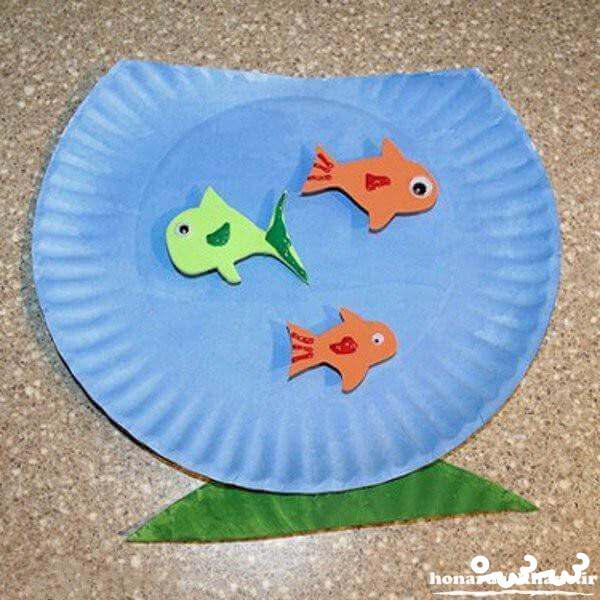 کاردستی هفت سین باکاغذبرای بیش دبستانی ایده کاردستی های عید نوروز برای کودکان دبستانی | سرسره
