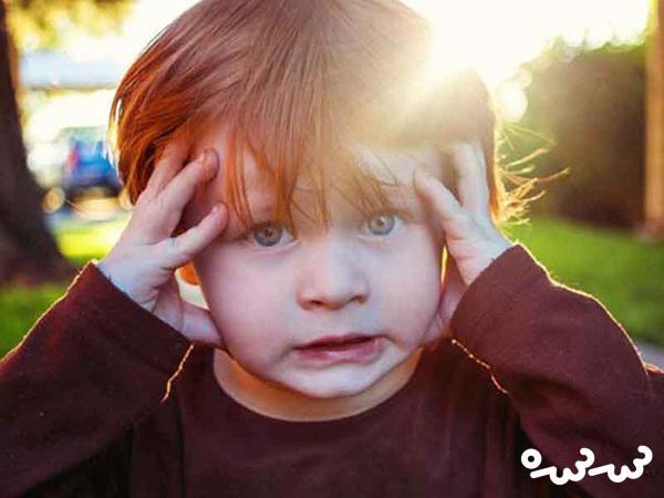 علائم استرس در کودکان