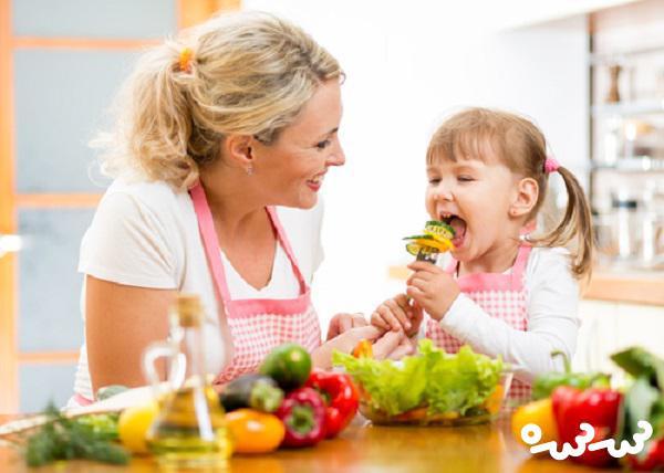 مواد غذایی مناسب کودک در فصل سرما