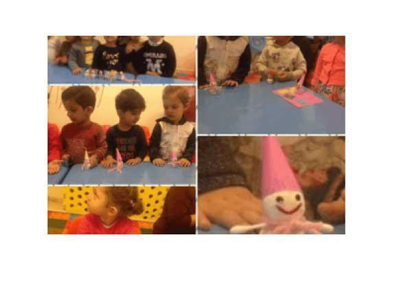 کارگاه آدم برفی کودکانه در خانه مادر و کودک ایرانی