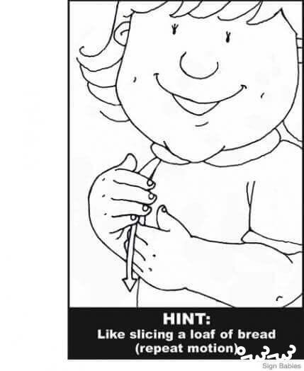 ۲۱ نشانه برای آموزش زبان اشاره به کودک