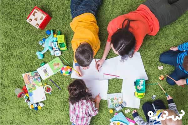 یک بازی ساده و مفید برای کودک نوپا