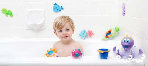 ۳ راهکار برای افزایش لذت حمام رفتن برای کودکان