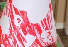 یک ایده شگفت انگیز برای نقاشی چاپی کودک