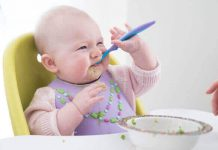 ارتباط بین غذای جامد و بهتر خوابیدن کودک