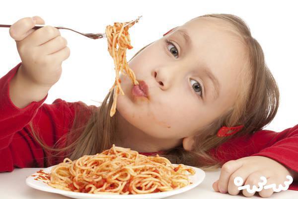 ارزش غذایی ماکارونی برای کودکان