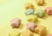 اوریگامی ستاره شانس