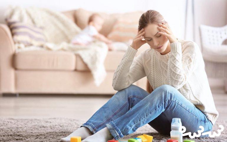 افسردگی پس از زایمان را چگونه درمان کنیم؟