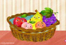 انیمیشن ABC Kids - خانواده انگشتی (میوه ها)