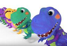 انیمیشن Dinosaur T-Rex Number Song - ABC Kids