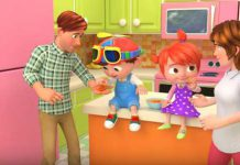 انیمیشن Johny Johny Yes Papa - ABC Kids
