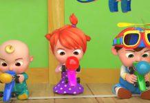انیمیشن Toy Balloon Car Race - ABC Kids
