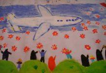 ایده های نقاشی دهه فجر و بیست و دو بهمن برای کودکان