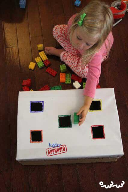 انواع بازی با لگو