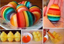 با هم تخم مرغ های رنگی ژله ای بسازیم