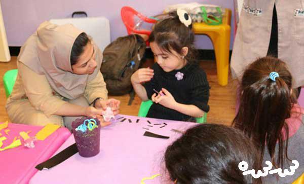 برنامه «دوشنبه های با من بخوان» در مهدکودک های تهران