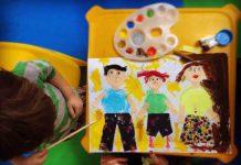 برگزاری کارگاه مادر و کودک در مهد کودک لوح سفید