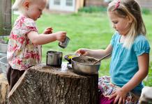 به بچه های خود اجازه دهید خاک بازی کنند