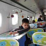 تجربه ی مهدکودک خلاق در یک هواپیما