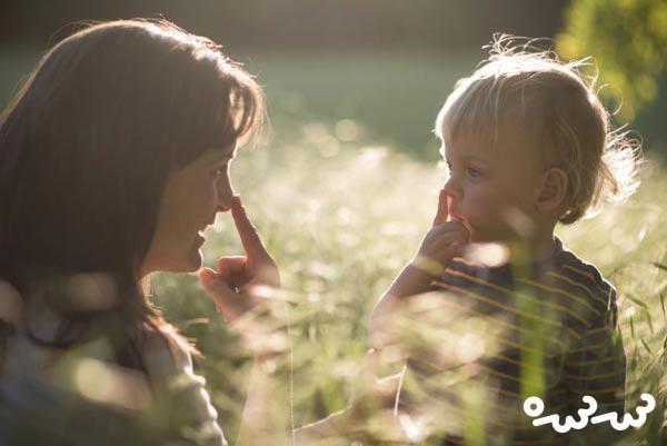 تقلید کردن در کودکان غریزی است؟
