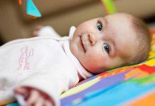 تمرین هایی برای قوی تر شدن کودکان زیر شش ماه