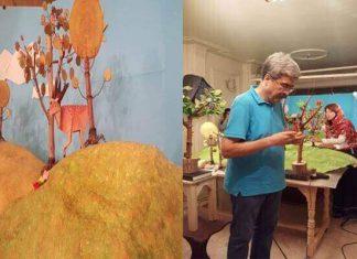 تولید کتاب مصور براساس هنر اوریگامی