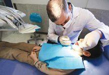 خدمات رایگان دندان پزشکی برای نوجوانان زیر ۱۴ سال