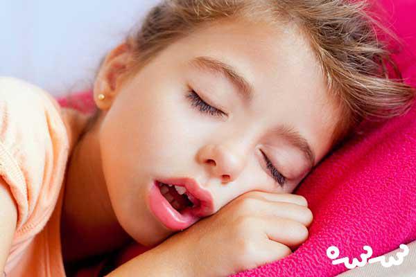خرخرکردن کودکان درخواب نشانه کدام بیماری است؟