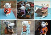 خواندن با عروسک ها به مناسبت هفته کتاب و کتابخوانی