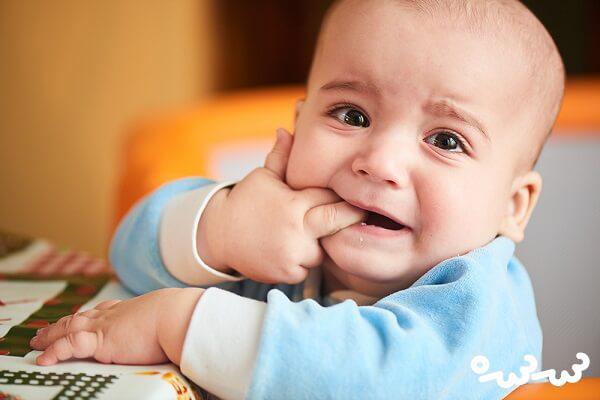 درمان خارش لثه نوزاد زمان دندان درآوردن