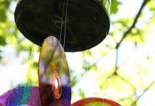 آموزش ساخت آویز تزئینی با سی دی