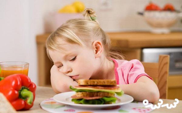 علت بی اشتهایی در کودکان