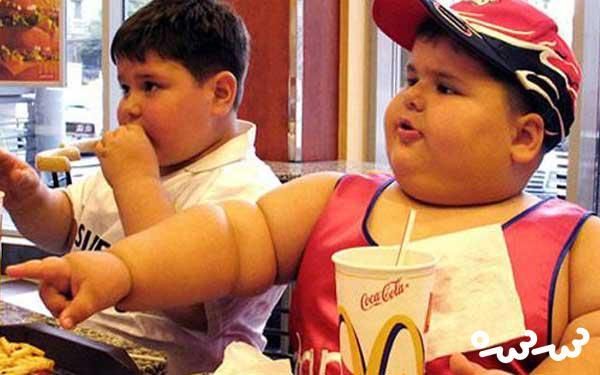 علت چاقی کودکان ایرانی و راهکارهایی برای آن