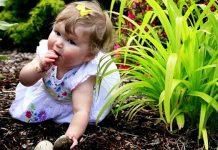 عوارض خاک خوردن کودکان