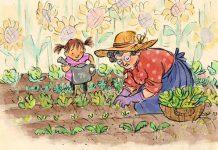 قصه باغچه مادر بزرگ