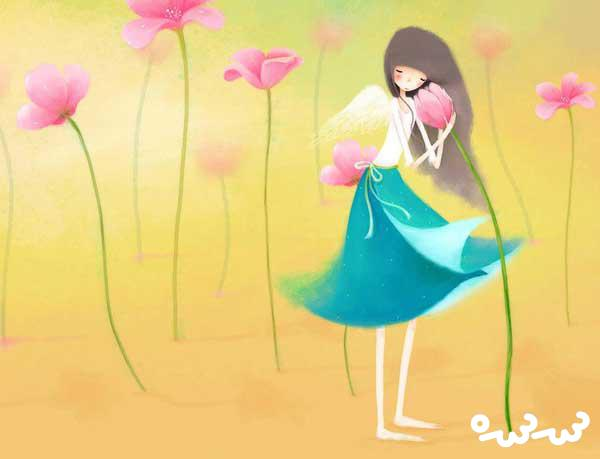 قصه ملکه گل ها