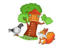 قصه کبوتر و سنجاب حسود
