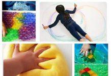 کارگاه خلاقیت تلفیقی در خانه بازی رنگین کمان