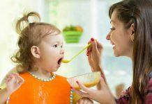ماده غذایی مناسب برای کودکان زیر دو سال