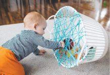 نخ بازی برای کودک نوپا