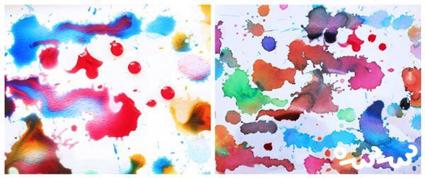 نقاشی با آبرنگ و روغن