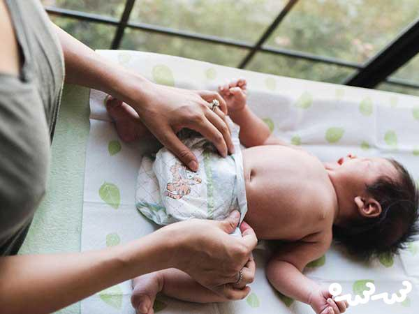 نکات مهم تعویض پوشک نوزاد
