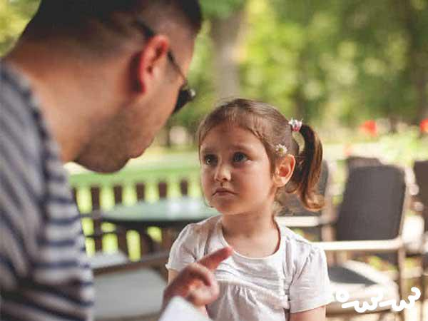 والدین باید درخواست خود را با صراحت به کودک بگویند