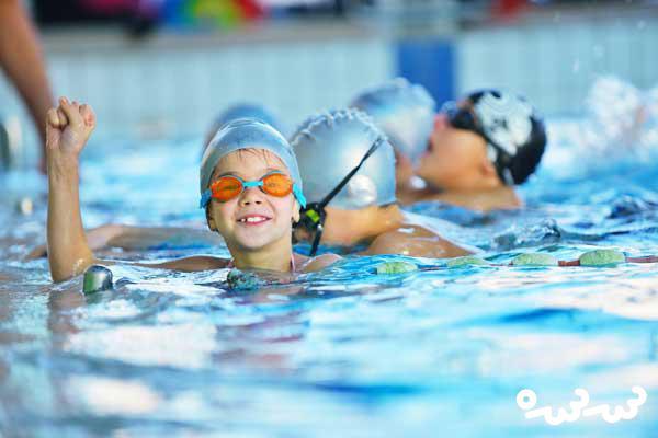 ورزش شنا برای کودکان، مفید است؟