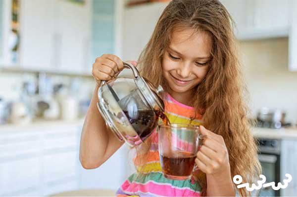 چای برای کودکان مفید است؟