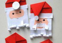 چگونه بابانوئل کاغذی بسازیم؟