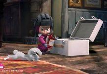 کارتون ماشا و میشا - قسمت چهاردهم - (برف بازی)